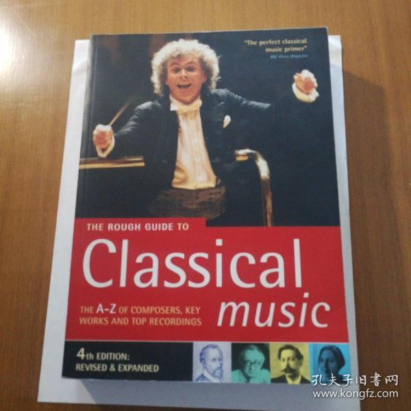 The Rough Guide To Classical Music 英文原版 现货