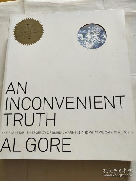 An Inconvenient Truth:The Planetary Emergency of Global Warming and What We Can Do About It