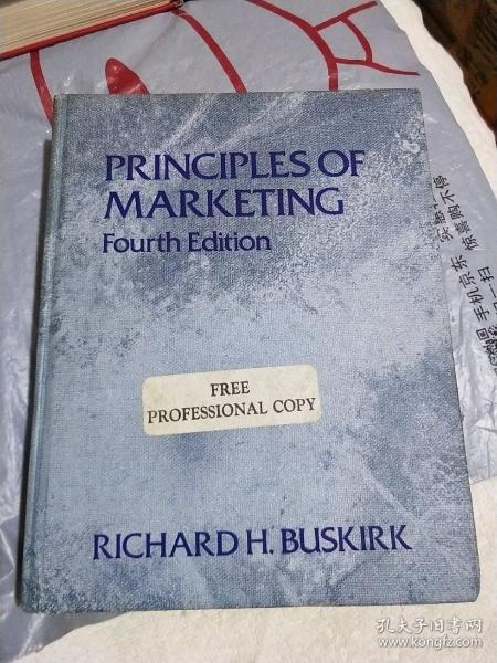 PRINCIPLES OF MARKETING(市场营销原理)