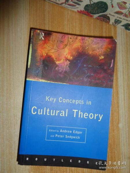 Key Concepts in Cultural Theory