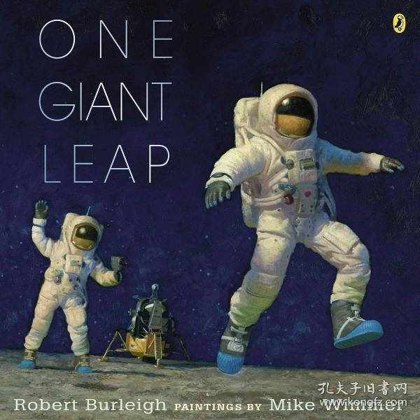 (61)One Giant Leap: A Historical Account of the First Moon Landing 平装