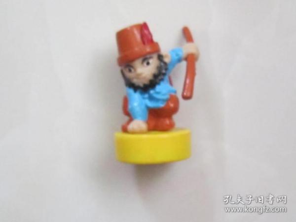 水浒人物——雷横(立体塑料人物像)少见