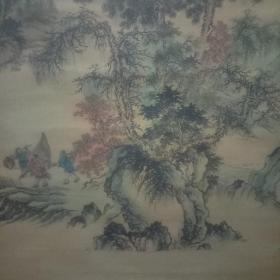 山水画手绘