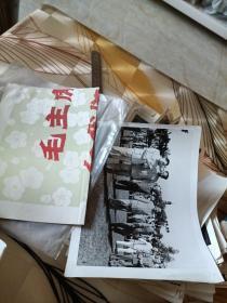 毛主席周恩来刘少奇新闻照片146张左右合售如图32开大