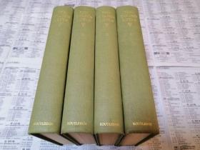 罕见由老舍先生指导翻译1939年刊印《金瓶梅》艾支顿译英文首版之【THE GOLDEN LOTUS】精装初印四册全