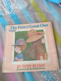英文原版绘本故事 the pain and the great one 作者Judy Blume平