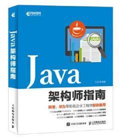 正版现货 Java架构师指南 王波 人民邮电出版社 9787115480668 书籍 畅销书