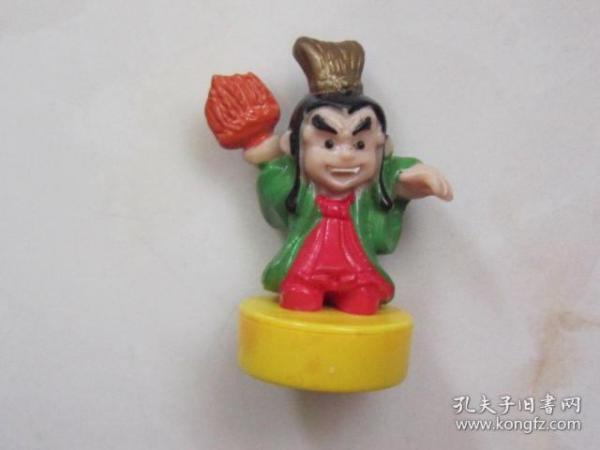 水浒人物——吕方(立体塑料人物像)少见