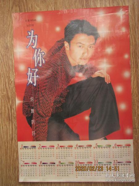 1999年明星海报:谢霆锋——为你好