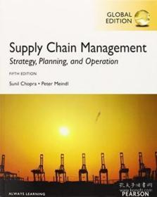 Supply Chain Management: Strategy Planning And Operation. Sunil Chopra