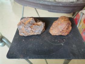 修圩堤挖出来捡的,像铁一样的石头(没有磁性)