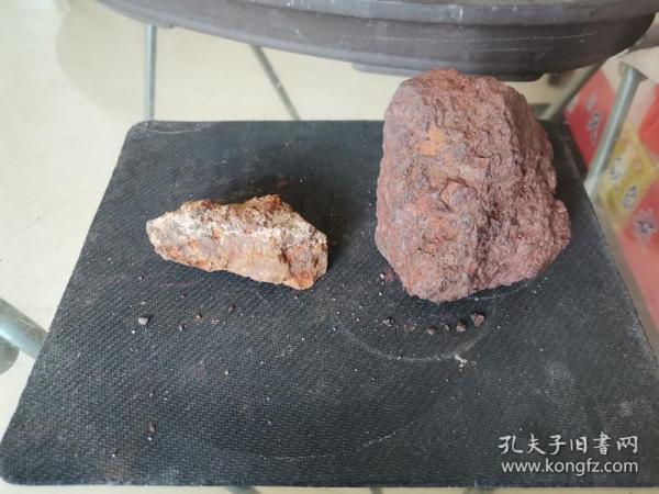 修圩堤挖出来捡的,像铁一样的石头(没有磁性)2