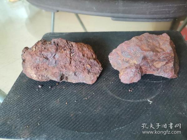 修圩堤挖出来捡的,像铁一样的石头(没有磁性)5
