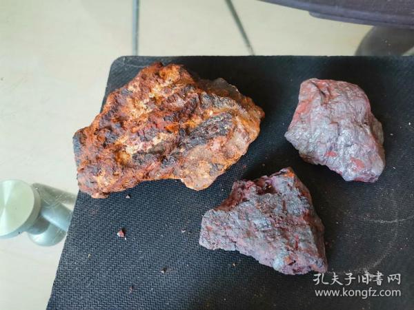 修圩堤挖出来捡的,像铁一样的石头(没有磁性)6