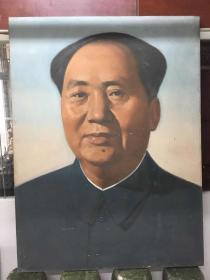 文革油画毛泽东   177*133 厘米