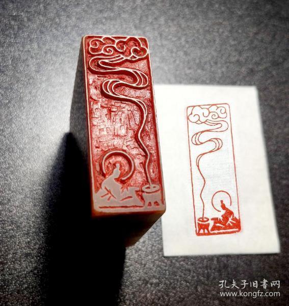 【禅意佛像印】手工篆刻印章书法国画成品闲章