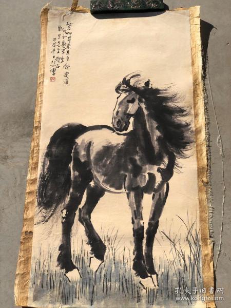 收到一批手绘画芯,济南郊区拆迁所得,画工十分自然180一张!