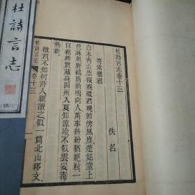 杜诗言志 4/5/7卷