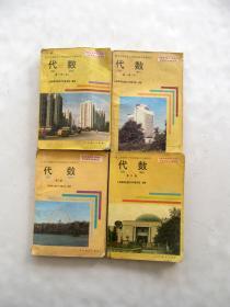 80后90年代人教版数学老课本九年义务教育三年制初中教科书代数一二三册一套