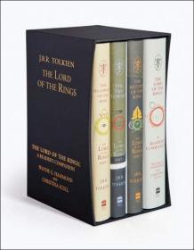 [预订]The Lord of the Rings Boxed Set, Hardcover – Special Edition[魔戒(盒式套装,精装特别版)]
