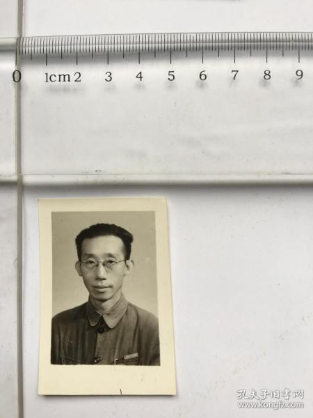 老照片4cm------眼镜男