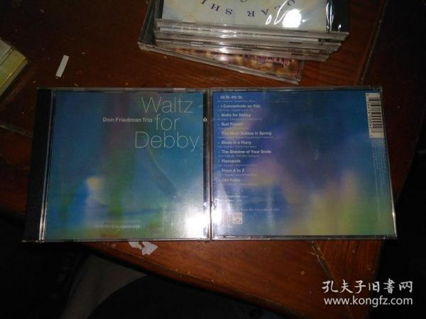 WALTZ FOR DEBBY don friedman trio(美)未拆