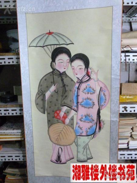 扑灰年画、中国一绝