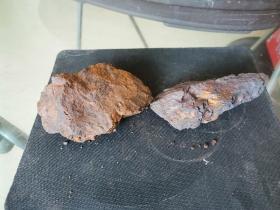 修圩堤挖出来捡的,像铁一样的石头(没有磁性)3