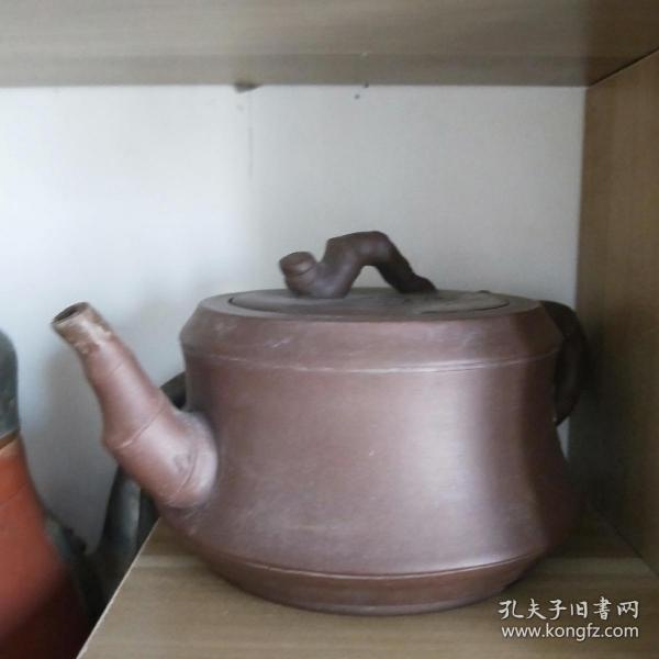 紫砂壶竹段茶壶