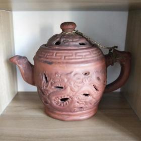 紫砂壶茶壶龙