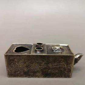 老铜文房水滴