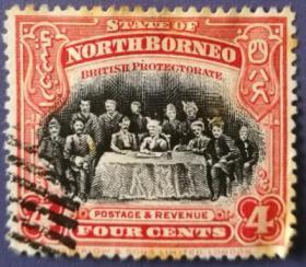 英联邦邮票C,英属北婆罗洲古典时期,大会会议
