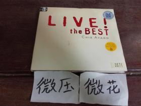 LIVE! the BEST 绫戸智恵 爵士现场 女声 日版 拆