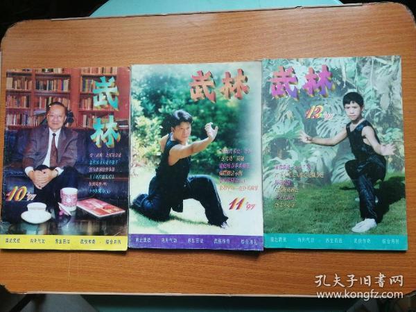武林1997年10,11,12 三期合售 包邮 近九品