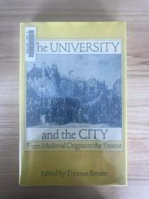 The University And The City: From Medieval Origins To The Present
