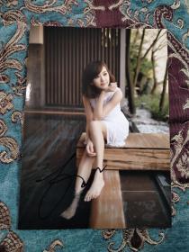 【签名照】台湾著名演员 陈意涵 签名照,凭借剧情片《听说》获得第12届台北电影节最佳女主角