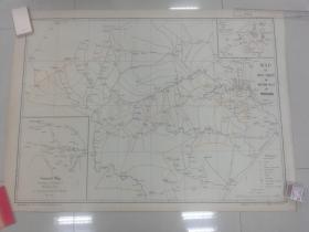 北平西山地图(1933年)(118.5cm *79.5cm)
