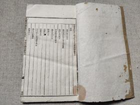法律文献:民国石印本《大清律例增修统纂集成督捕则例附纂》卷上下一册全,白纸