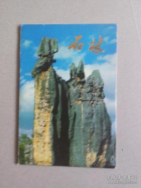 石林(明信片10张)