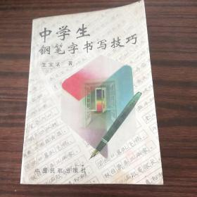 中学生钢笔字书写技巧