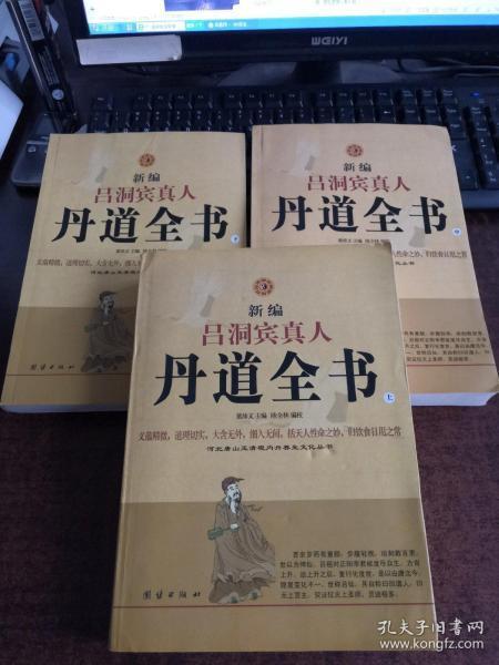 新编吕洞宾真人丹道全书(上中下)