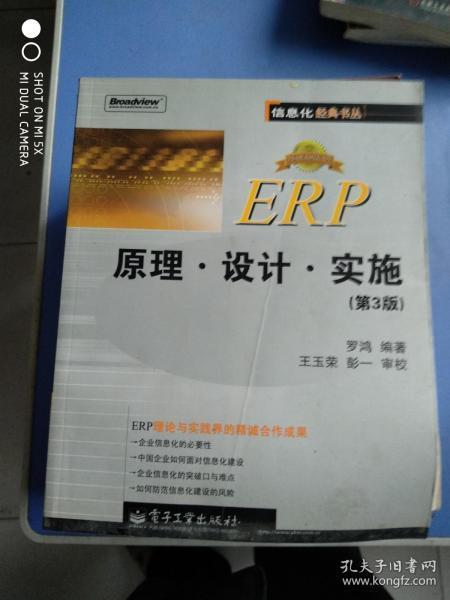 ERP原理设计实施:第3版