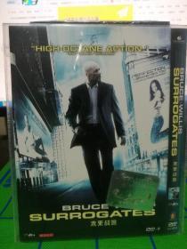 DVD  未来战警  布鲁斯威利斯