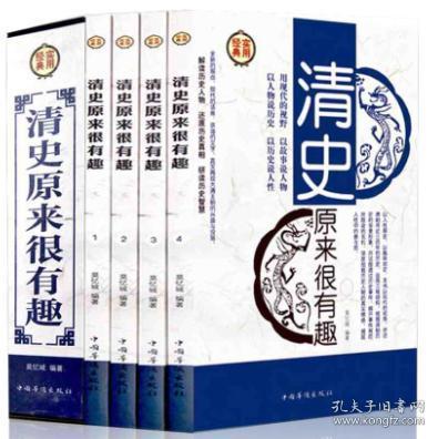 清史原来很有趣 清朝历史通俗读物 清史原来很有趣大全集讲述清朝近三百年历史正版书籍