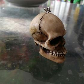 骷髅头钥匙链