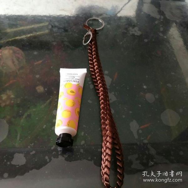 彩带编织钥匙链①