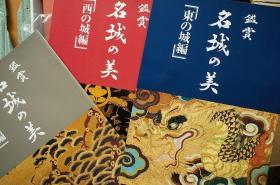 《鉴赏 名城之美》 日本城堡摄影写真 8开200枚单页图片 可挂出