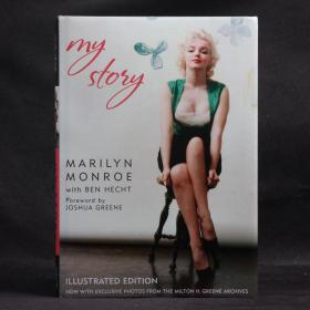 英文原版現貨 MY STORY-MARLILYN MONROE with BEN HECHT 瑪麗蓮·夢露自傳 我的故事 照片插圖版