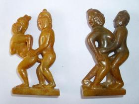 玉佣玉人古玩杂项老玉古玉石雕玉石红山文化高古玉 玩具第二套