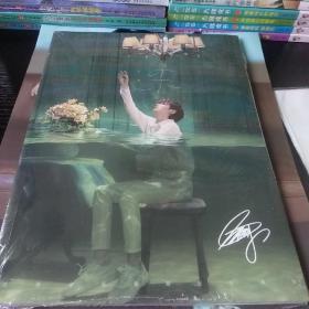 王源写真集大礼包 赠明信片签名海报卡贴周边袋等